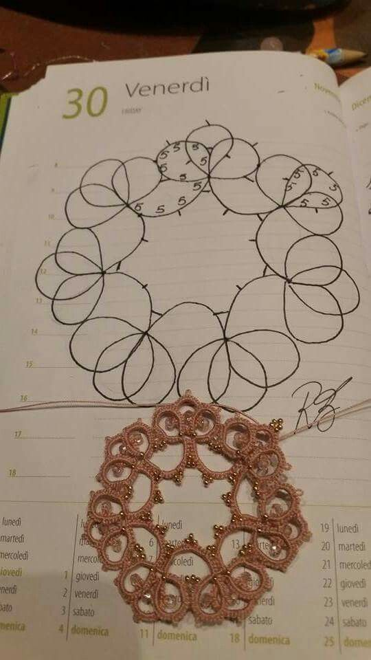 Pin by Jana Minářová on frivolitky tatting  e3cb643b706