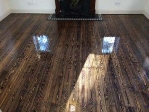 Attrayant Pine Floor Sanding In Welwyn Garden City That Peak Flooring Also Stained  With Bona Create Earth.