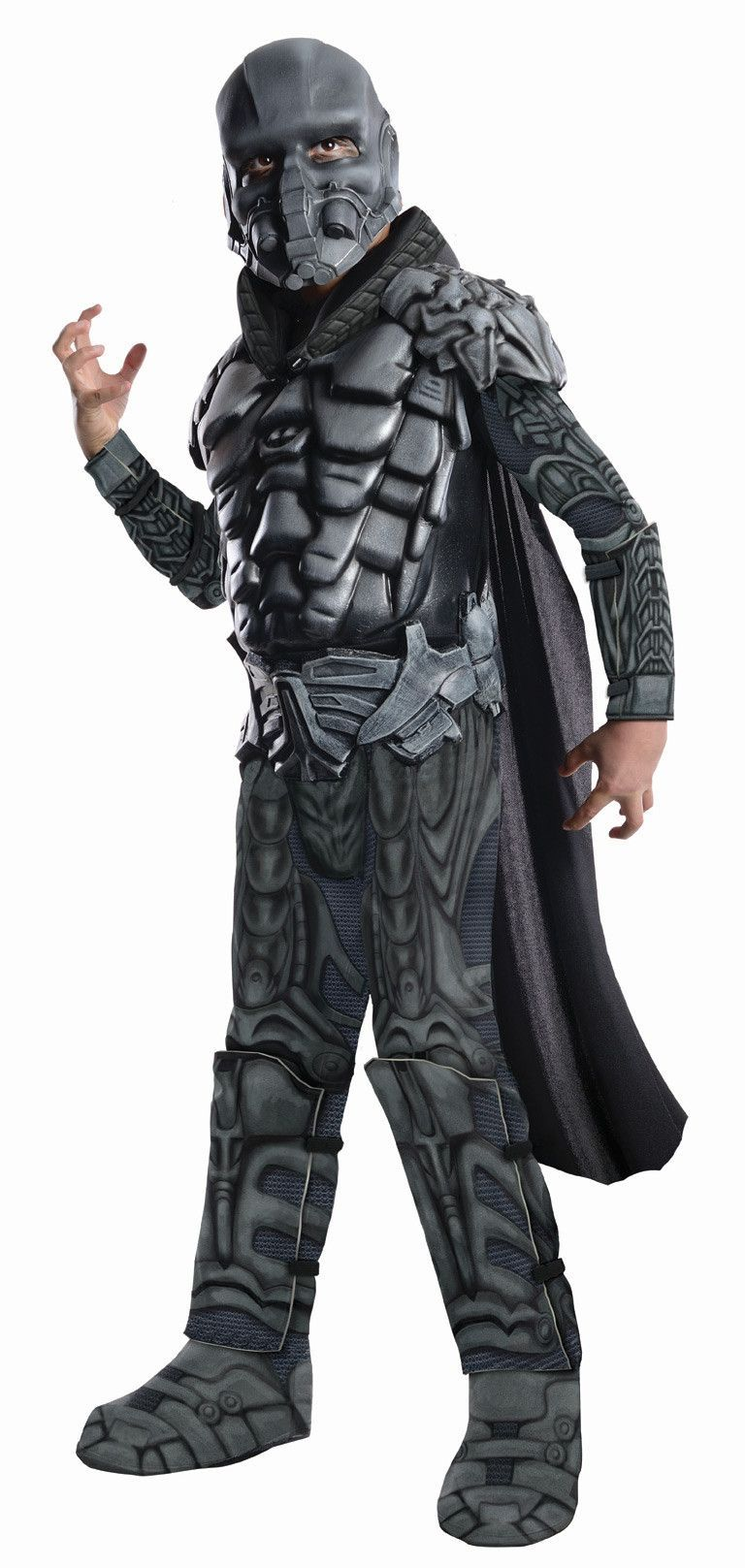 Superman Man Of Steel General Zod Deluxe Muscle Chest Costume ...
