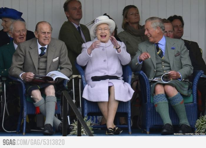 I think the Royal Family is pretty funny.