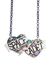 Space Cadet large double heart necklace love this so much ❤❤❤