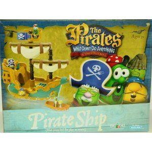 Veggie Tales Pirate Ship Playset 55 Jhs First Birthday Veggie