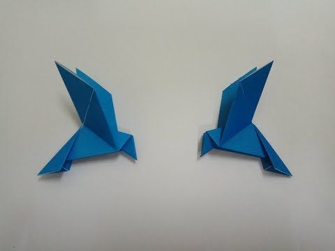 Origami Bird Easy – Folding Instructions Bird Easy