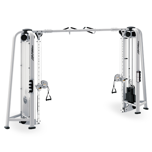 Adjustable Cable Crossover Lifefitness Fitness Gym
