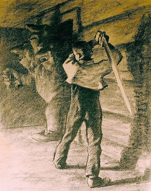 Askeladden slåt ihjel trollet, Werenskiold