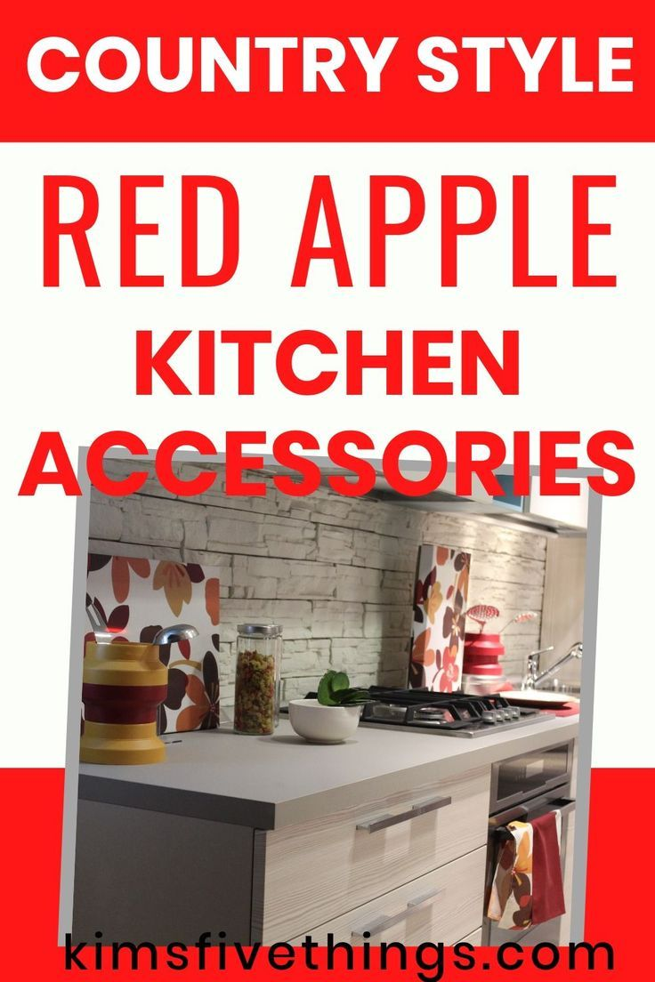 apple decorations for kitchens: décor ideas - apple kitchen