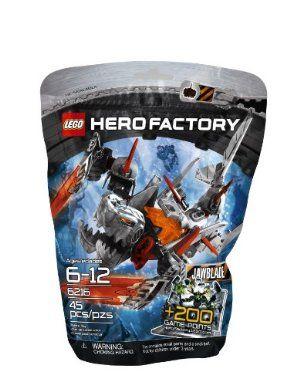 LEGO HERO FACTORY 6216 JAWBLADE complete figure FREE SHIPPING
