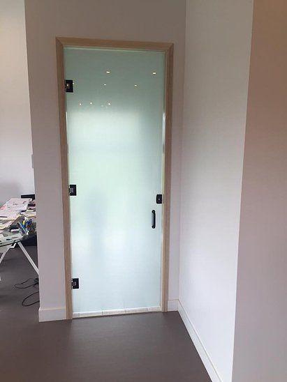 Modèle de porte givré (salle de bain) - chez IDÉÔ Installation