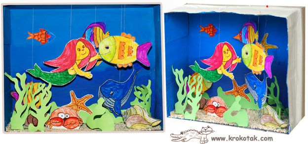 fish and mermaid aquarium krokotak m rchen. Black Bedroom Furniture Sets. Home Design Ideas