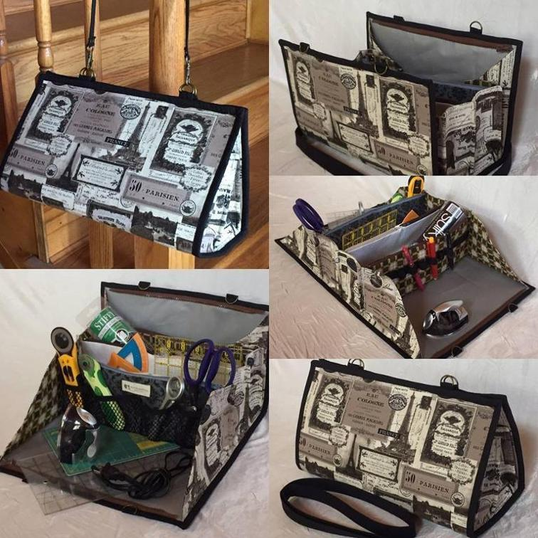 Quilters Organizer Bag - Sewing bag, Bag organization, Bags, Quilted bag, Quilters, Carry all bag -
