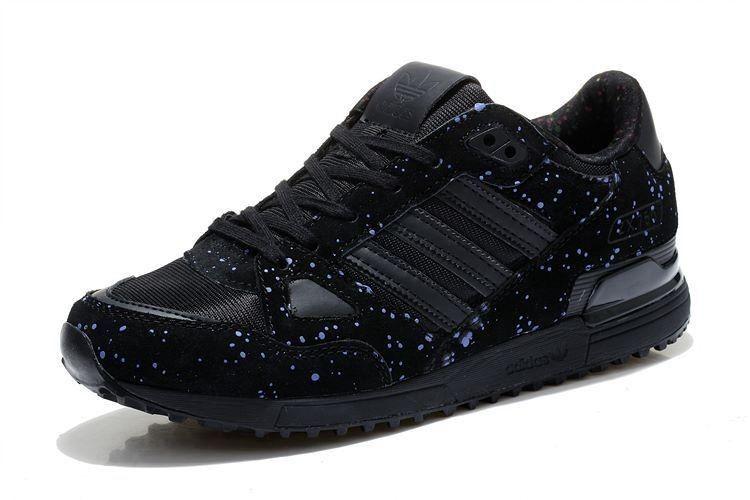 adidas schuhe zx 750 schwarz matt
