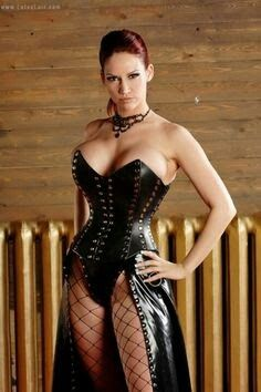 Naughty dominatrix