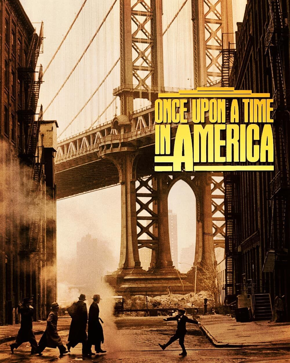 Manhattan Bridge Scene From The Once Upon A Time In America