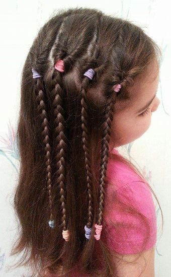 Top 9 Hairstyles For Kids With Long Hair Hugestyles Sabrina S