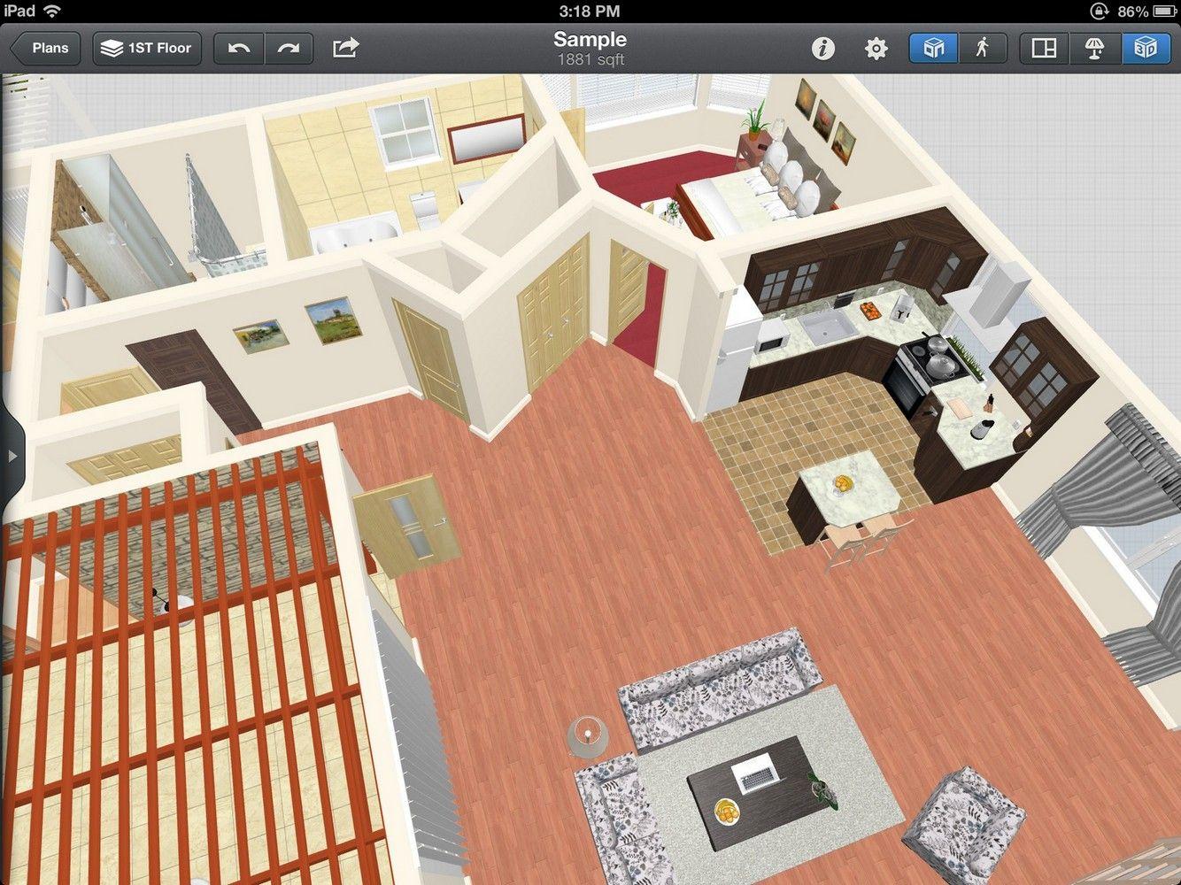 Create Your Space Using Ipad Interior Design App App Design