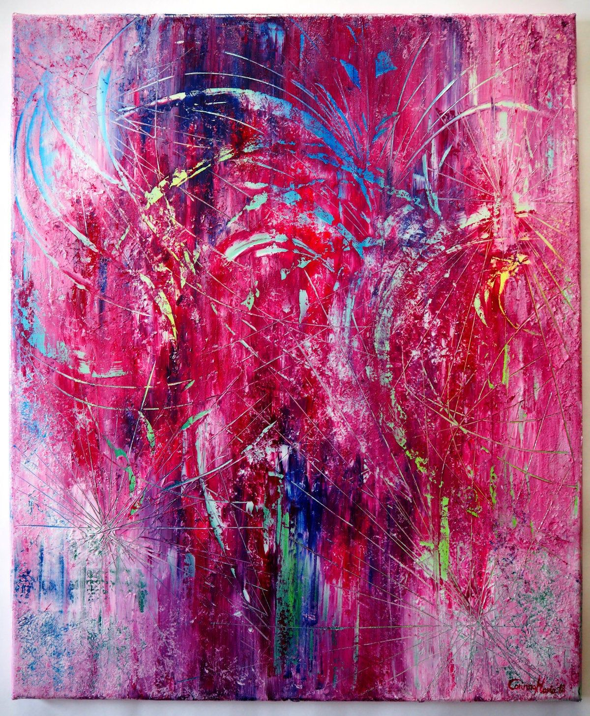 pin auf abstrakt corinnamariaart bild groß acryl kunst
