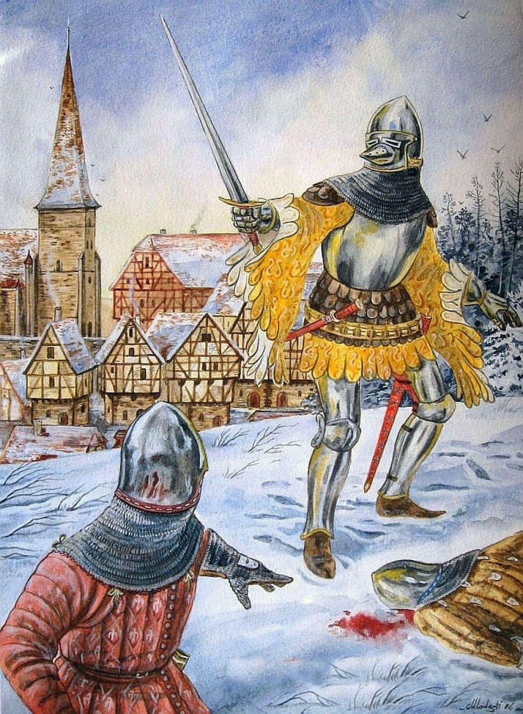 German Knights, 1360-1405