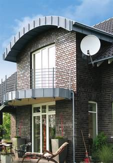 Das Tonnendach gehört zum Element Metall.