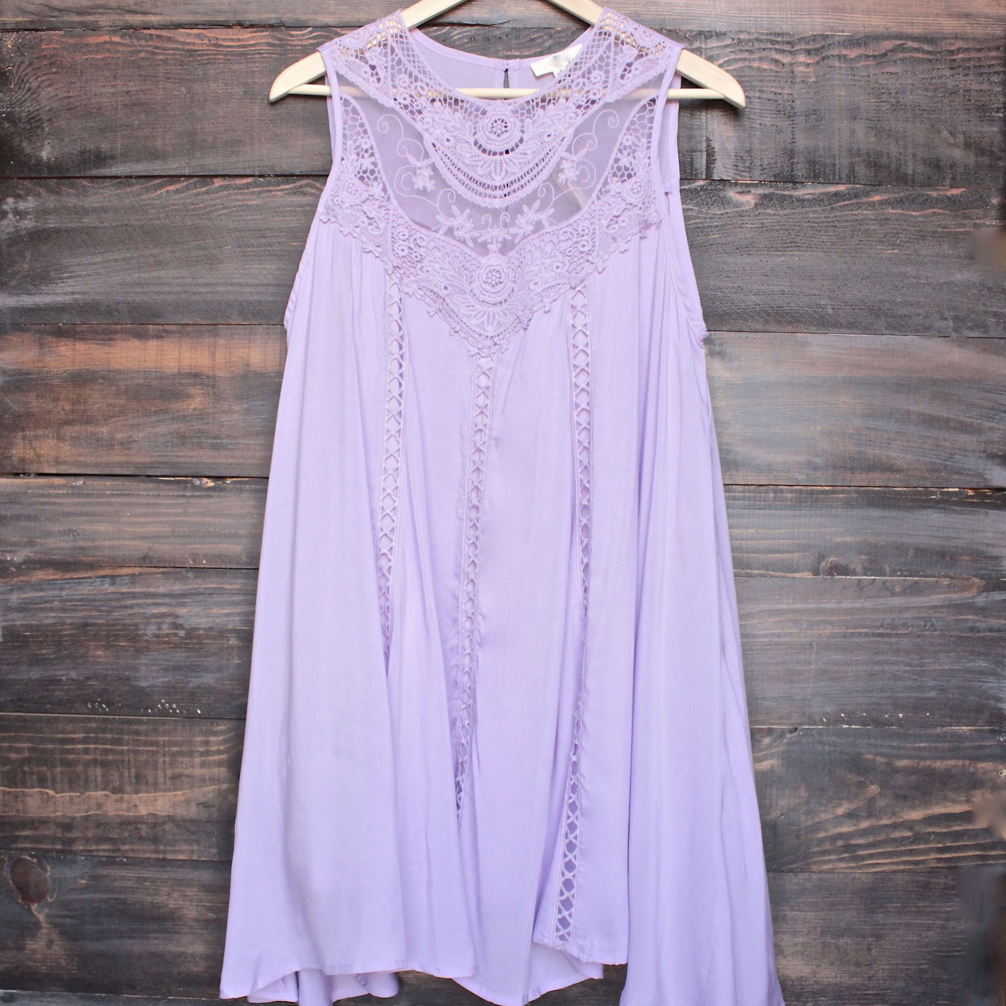 lavender boho crochet lace dress - shophearts - 1 | Outfits ...