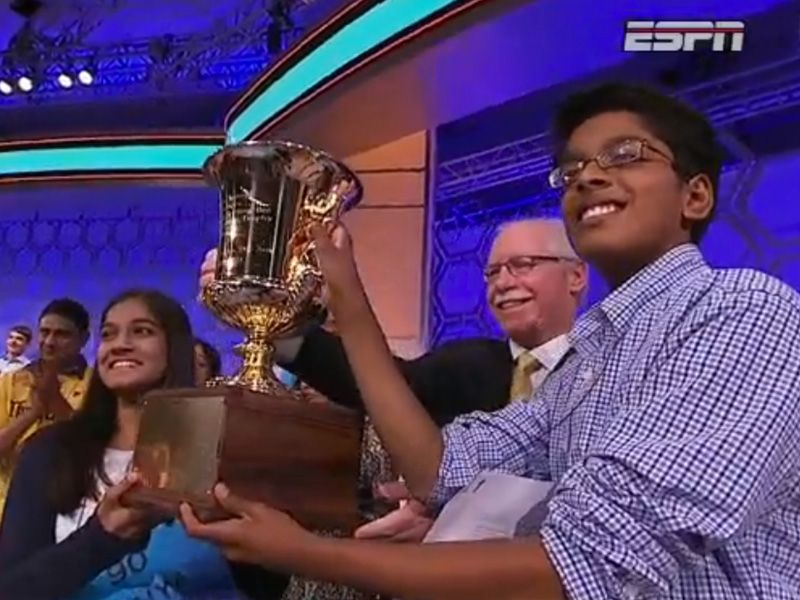 Scripps National Spelling Bee Ends in a Tie for the Second Year in a Row http://www.people.com/article/scripps-national-spelling-bee-ends-tie