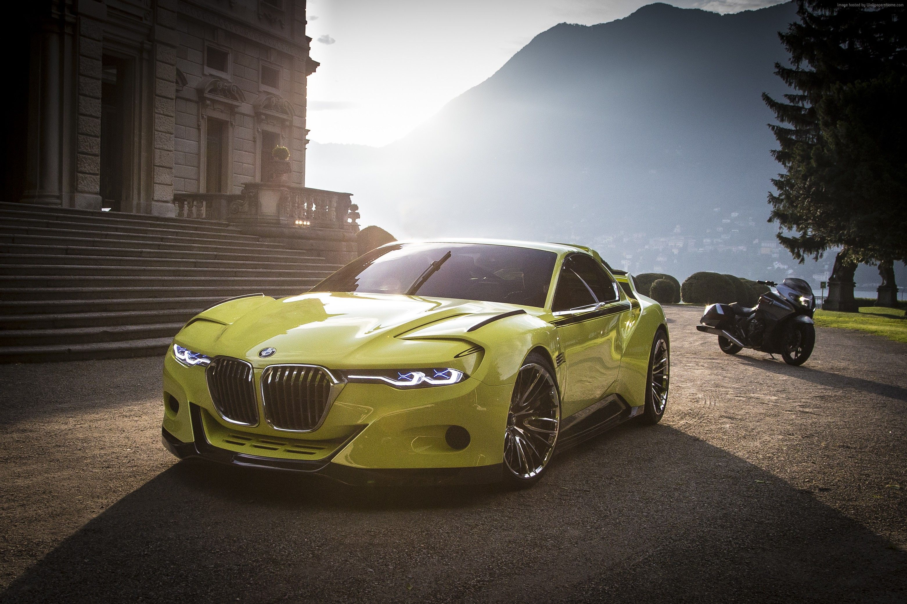 Awesome Yellow BMW Sports Car K Wallpaper Cars UHD Pinterest - Sports cars 4k wallpapers