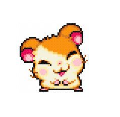 Free Hamtaro Cross Stitch Pattern Ham-Hams Unite by Cross Stitch Quest
