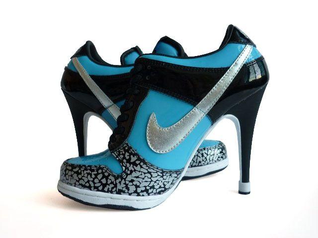 turquoise nike high heels Free ...