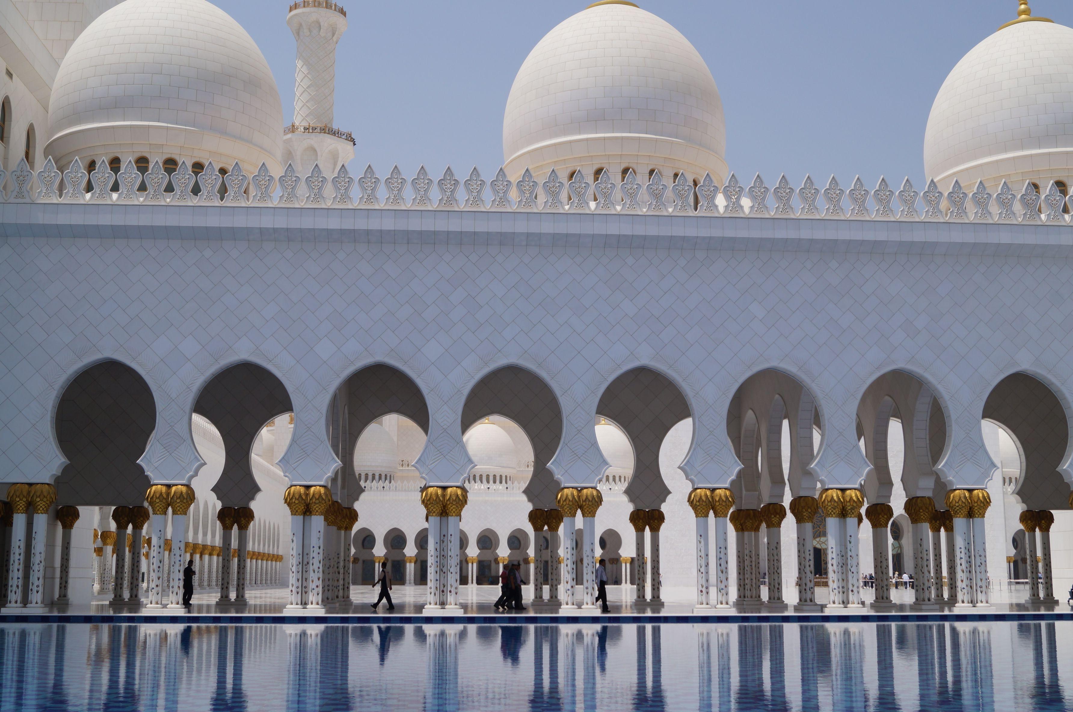 Abu Dhabi Uae Sheikh Zayed Grand Mosque Sandra S Travel Travel