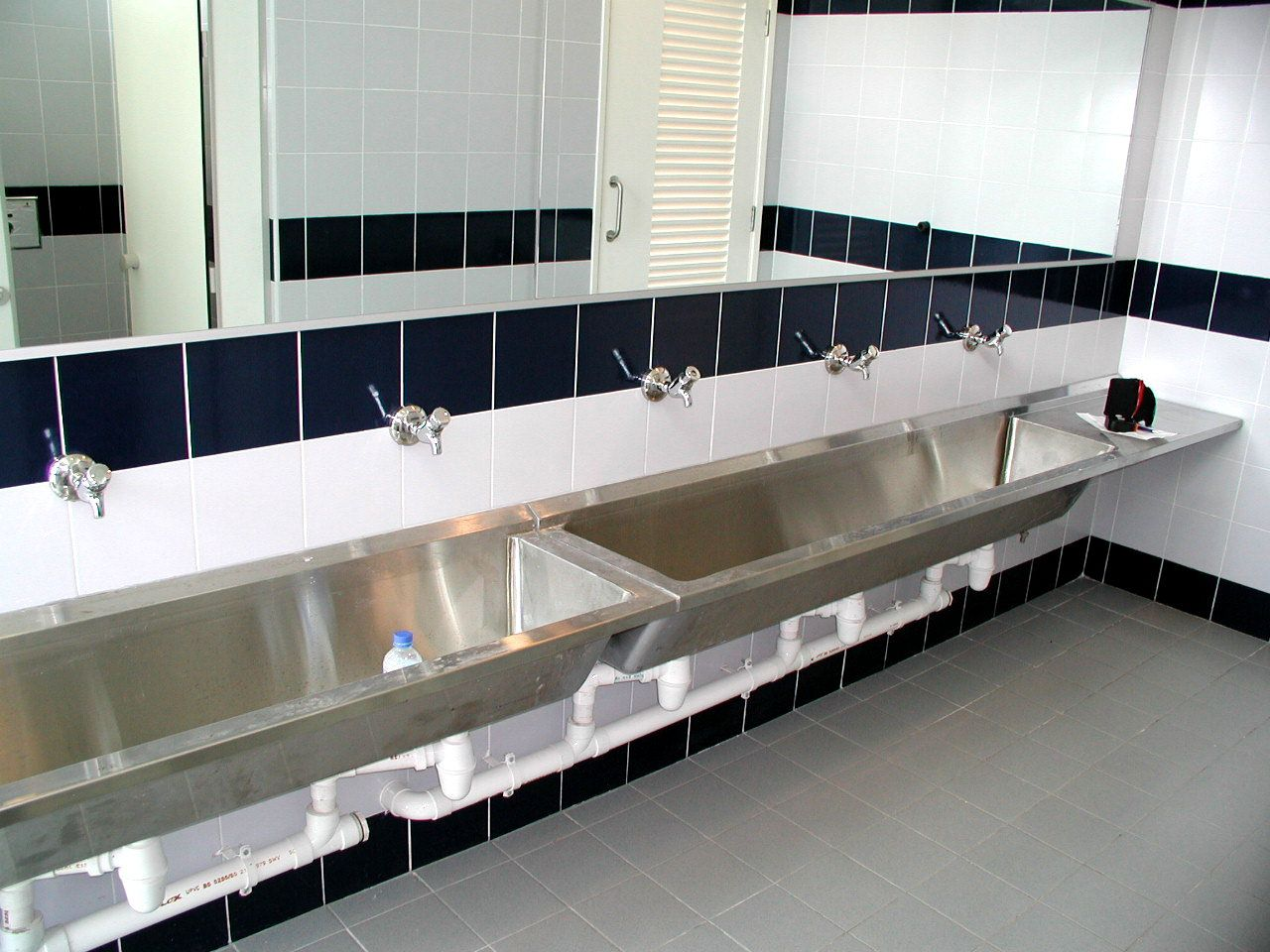 Stainless Steel Trough Bathroom Sinks