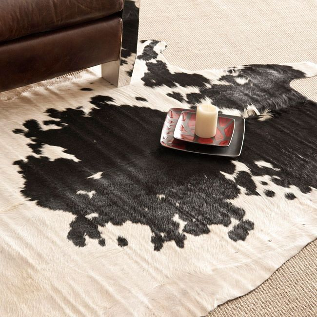 From the grassy Pampas region of Argentina, the Hacienda cowhide rug - kuhfell teppich wohnzimmer