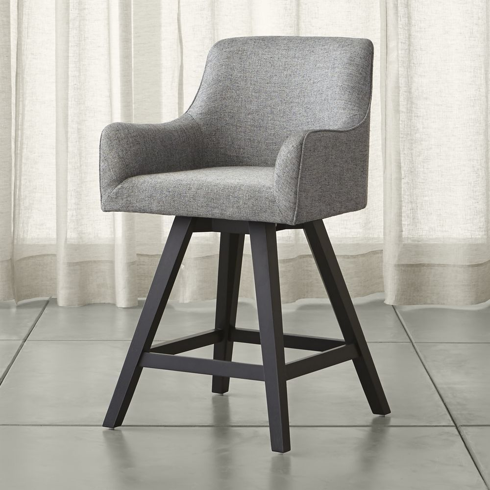 Harvey Swivel Counter Stool - Crate and Barrel