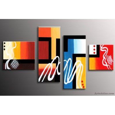 Astratto - quadri moderni dipinti a mano   CASA   Pinterest