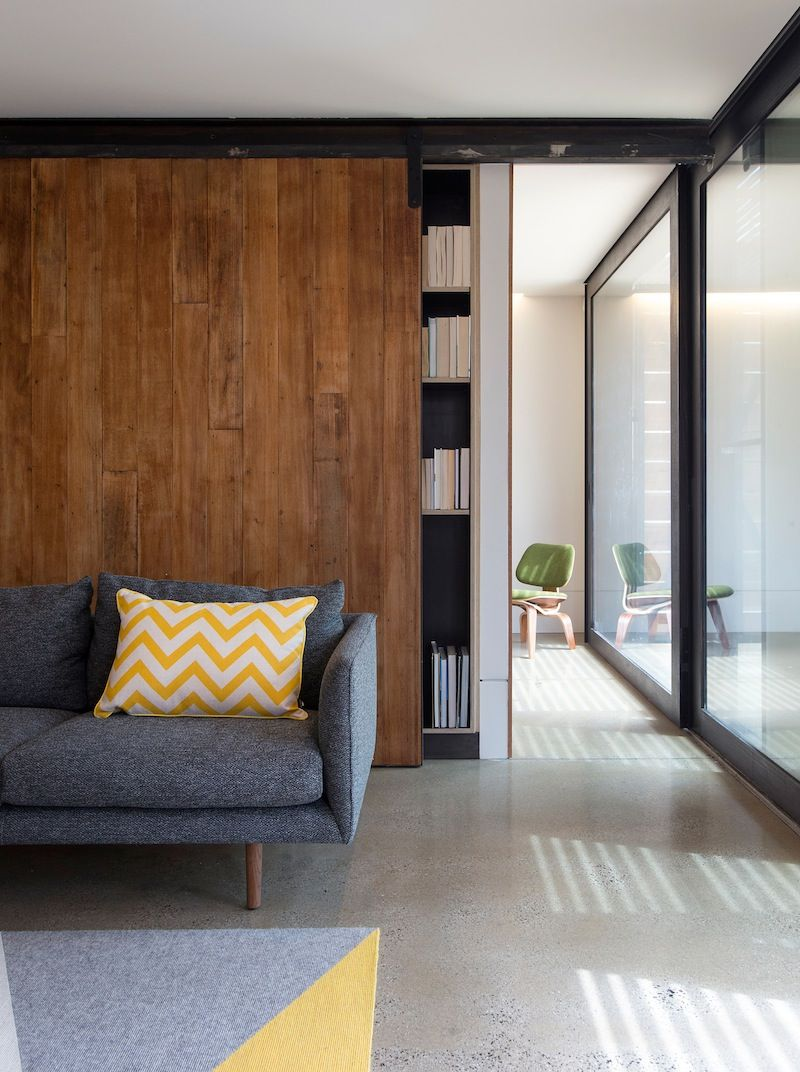 Bedrooms grey sliding doors and by