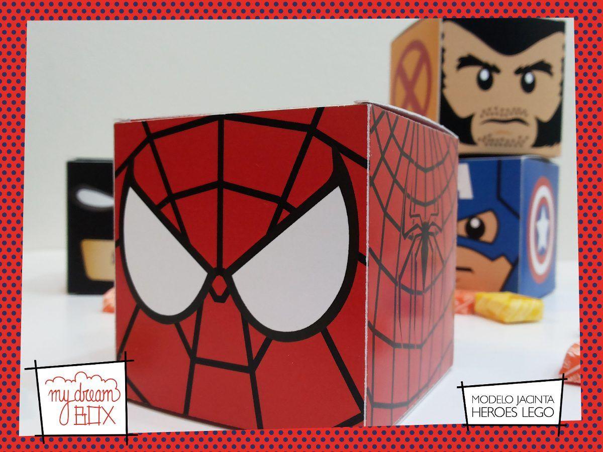 caja spiderman box - Buscar con Google