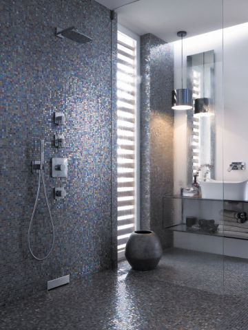Douche l 39 italienne 20 am nagements originaux salle de bain pinterest douche salle de - Douche a l italienne definition ...