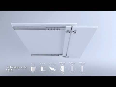 4 Accuride Pocket Door Slide Selector Youtube Pocket Doors Diy Cabinet Doors Bathrooms Remodel
