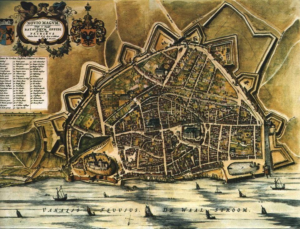 Nijmegen , heel lang geleden