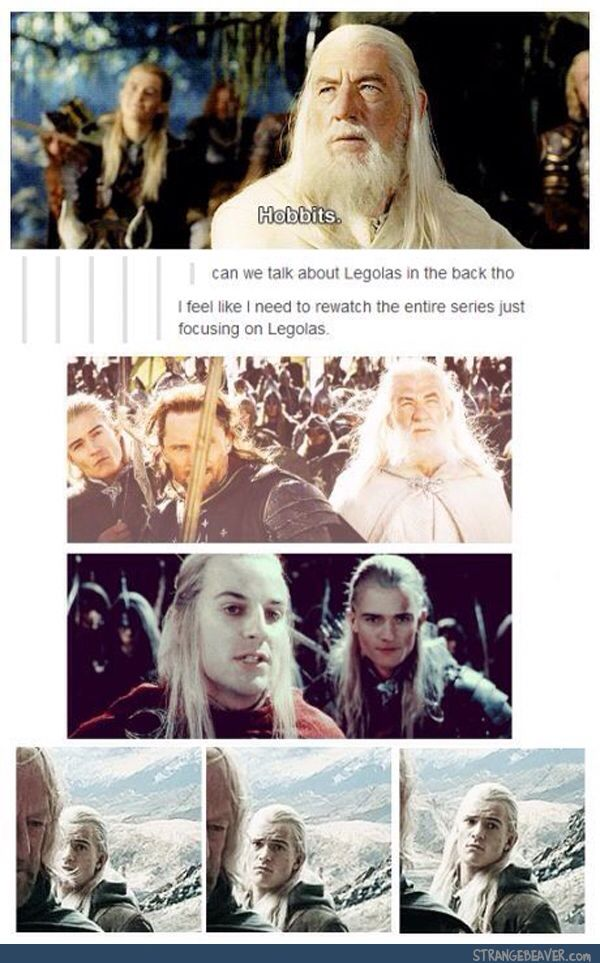 All Legolas weird faces - Water Candel