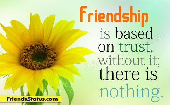 Friendship Trust Quotes With Image