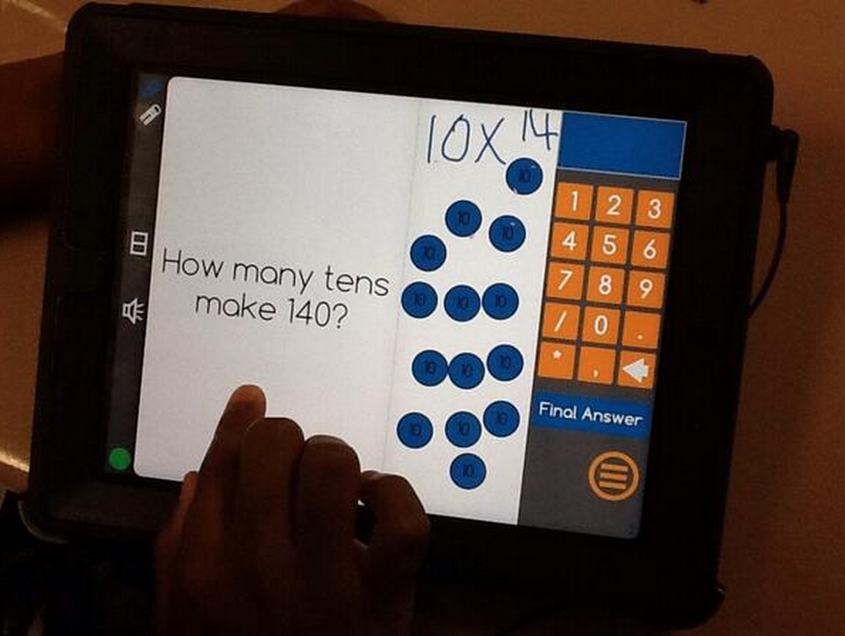 Differentiated Math Instruction Using Front Row Adaptive Math For K