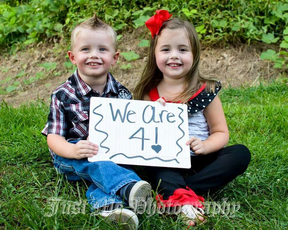 4 Year Old Boy Girl Twins Brother And Sister So Cute