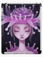Photo of 'Jellyfish Princess' iPad Case/Skin by alina3art#alina3art #caseskin #ipad #…