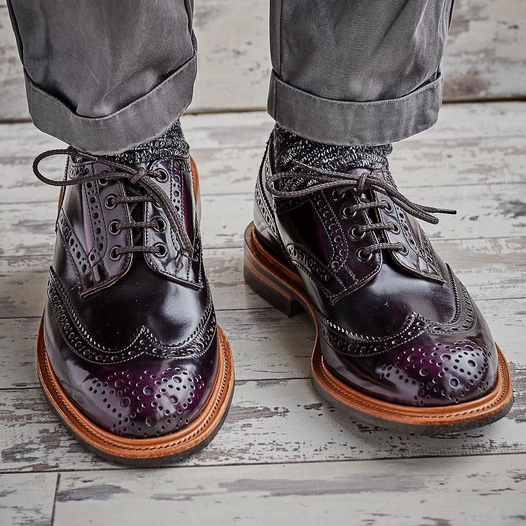 86ed0c5acfa Can you spot the distinctive Tricker's brogue wingtip design when ...