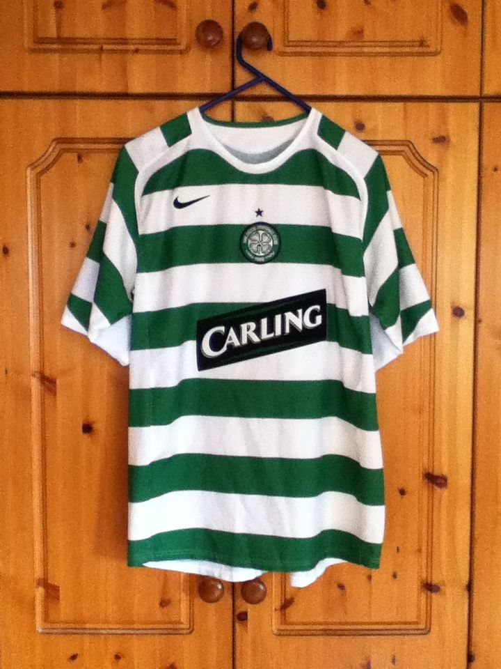 1ad41b623ea Glasgow Celtic Football Club Home Jersey 2005 - 2007 Large Adult Nike