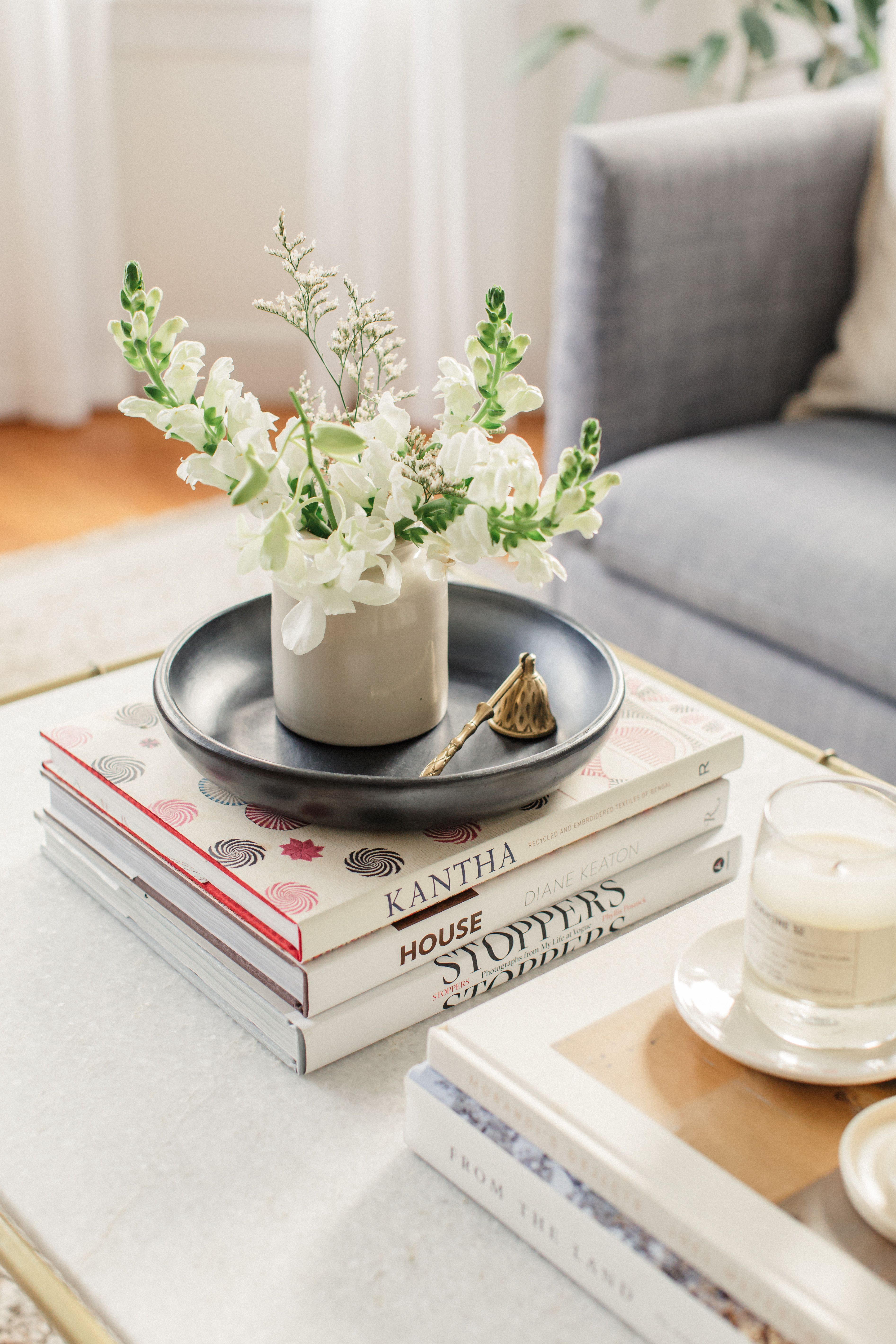 - Simple Coffee Table Styling Coffee Table Styling, Simple Coffee