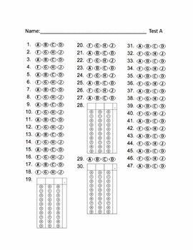 photograph relating to Free Printable Scantron Bubble Sheet named Pin upon Homeschooling Programs
