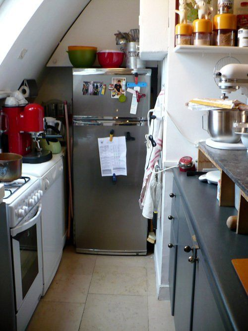 Small Kitchen Designs 10 Organized Efficient And Tiny Real Life