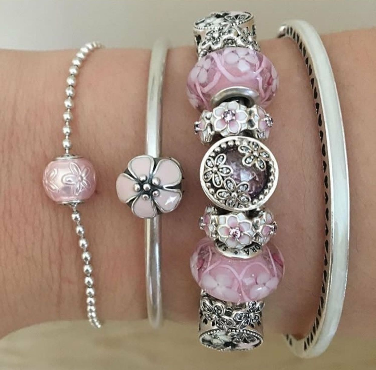 Like the stacking pandora pinterest bracelets pandora charm