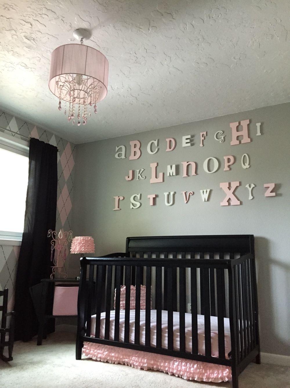 Home daycare design-ideen girls room alphabet wall  girls room  pinterest  alphabet wall