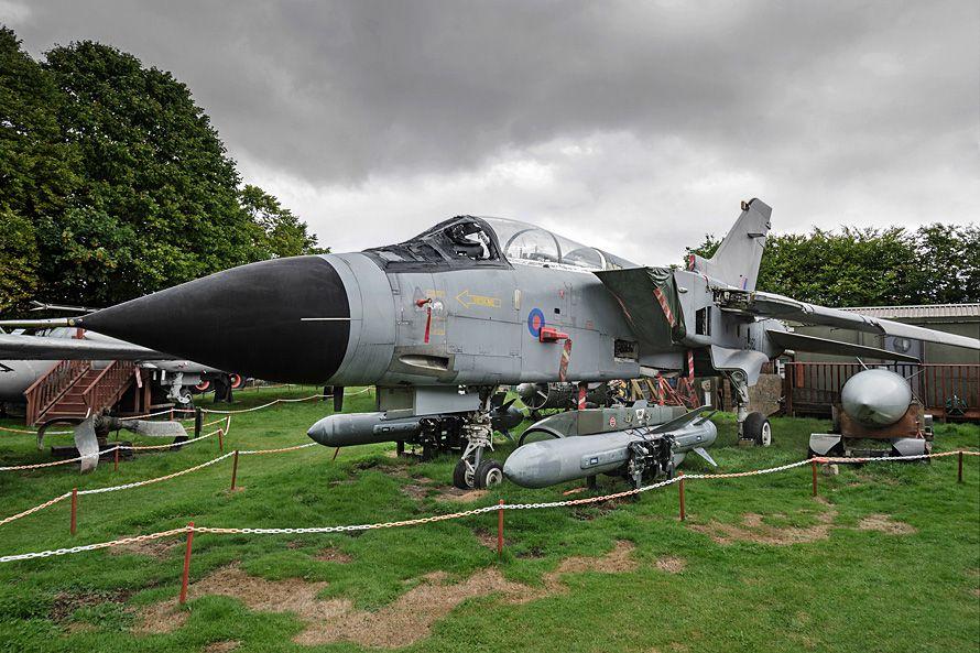 Panavia Tornado GR.1 ZA362. ex Lossiemouth. Currently